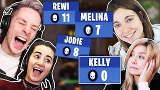 Video TodesSQUAD in FORTNITE mit Melina Sophie, Kelly und Jodie MP3, 3GP, MP4, WEBM, AVI, FLV Maret 2018