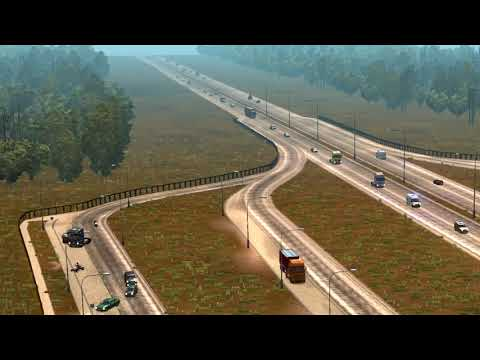 Parking in rest places v1.4 for Ets2