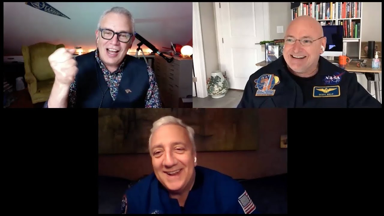 Zoom through (digital) space w/ Scott Kelly, Mike Massimino, & John Rocco