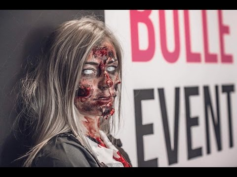 TUTO MAQUILLAGE ZOMBIE Walking Dead Chez BULLE EVENT THIONVILLE
