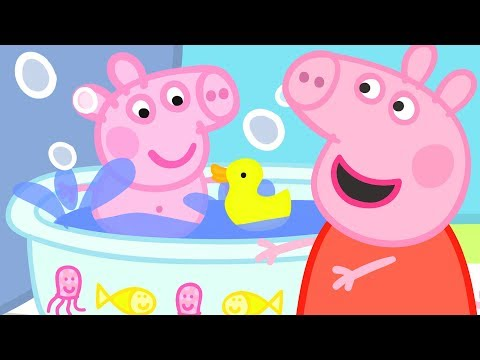 Peppa Pig English Episodes | Baby Alexander's Bath Time! | #PeppaPig