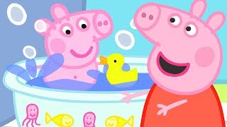 Peppa Pig English Episodes | Baby Alexander's Bath Time! | Peppa Pig Official