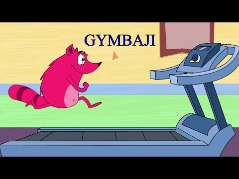 Pyaar Mohabbat Happy Lucky - Ep.69 | Gymbaji | Hindi Animated Cartoon Show | ZeeQ