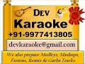 Oopar Khuda Aasman Neeche  Kachche Dhaage   Lata Mangeshkar Digital Karaoke by Dev