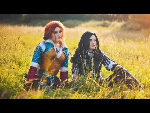 Witcher 3 Cosplay Showcase - Triss and Yennefer
