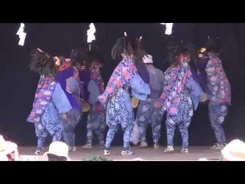 【Japan】浦山の獅子舞(影森中学校)Japan Lion Dance