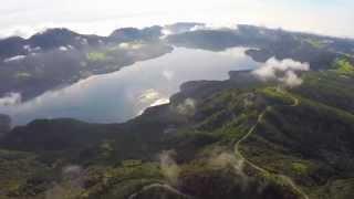 空撮 / 芦ノ湖 富士山