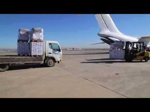 Iraq: UNHCR Airlift Into Syria