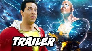 Shazam Trailer and Black Adam Explained