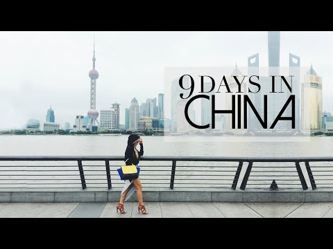 Travel Vlog: 9 Days in China: Shanghai, Beijing, Xi'an, Zhangjiajie | HAUSOFCOLOR