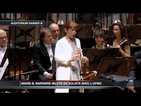 Marie-B. Barriere-Bilote joue en soliste avec l'OPMC
