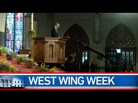 "West Wing Week: 04/19/13 or ""Selflessly. Compassionately. Unafraid."""