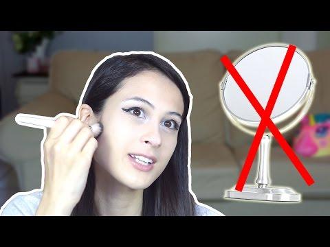 MAKEUPPEN ZONDER SPIEGEL! || Funny Challenge_Legjobb vicces vide�k