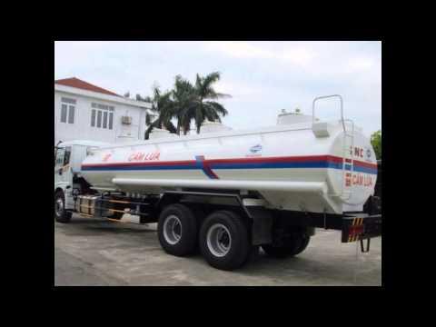 Bán xe chở xăng dầu 17 khối Thaco,0946808366