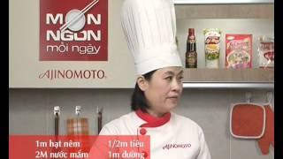 Món Ngon Mỗi Ngày - Cá thu Nhật kho nước dừa
