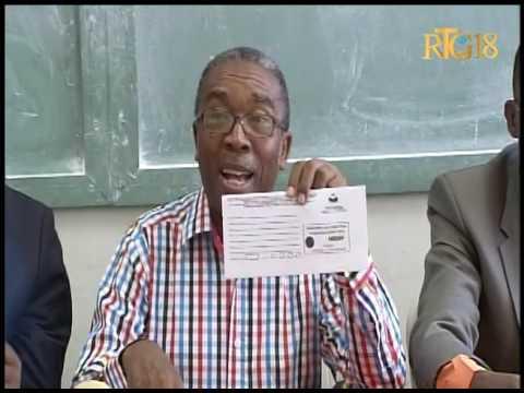 Ministère de l'Education Nationale / Conférence de presse