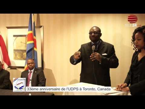 CANADA: À l'occasion du 33ème anniversaire de l'UDPS, les congolais de Toronto derrière Félix Tshisekedi
