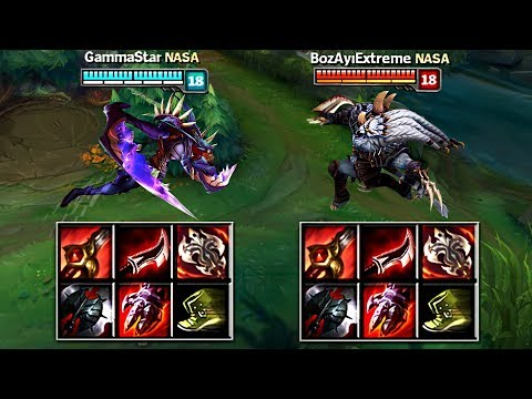KHA'ZIX Vs RENGAR FULL BUILD FIGHTS & Best Moments!