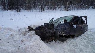 Жесткие аварии 1й недели Февраля 2016