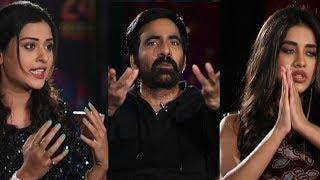 Ravi Teja Makes Hilarious Fun With Payal Rajput And Nabha Natesh