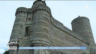 Fougeres France  city photo : Le château de Fougères, monument emblématique de Bretagne
