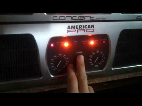 Amplificadores de Potenci - Buenas aca les muestro mi rack de potes, este compuesto por lo siguiente American Pro Concert 4800 American Pro Concert 2600 Skp Max 310 Skp Max 700 Behringe...