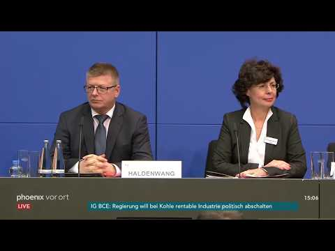 Verfassungsschutz-Pressekonferenz zur bundesweiten  ...