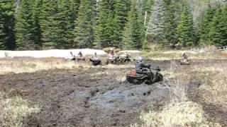 8. 2002 Polaris sportsman 700 mud bog