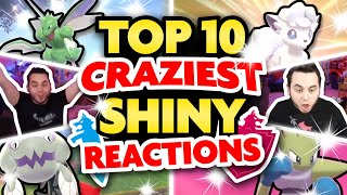 TOP 10 MOST EPIC SHINY REACTIONS EVER! Pokemon Sword and Shield Shiny Montage by aDrive