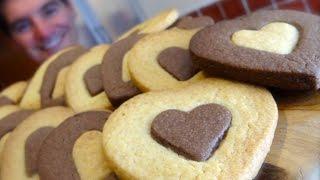 Shortbread Style Cookies: Chocolate & Vanilla treats Video
