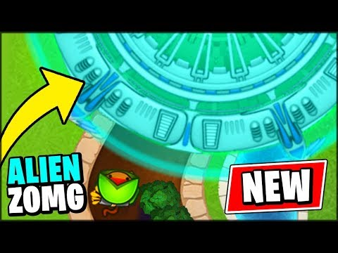 ALIEN UFOs ARE IN BLOONS TD BATTLES // Bloons TD Battles Mod (Special Edition)