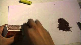 How to make a very loud firecracker with matches (household items)