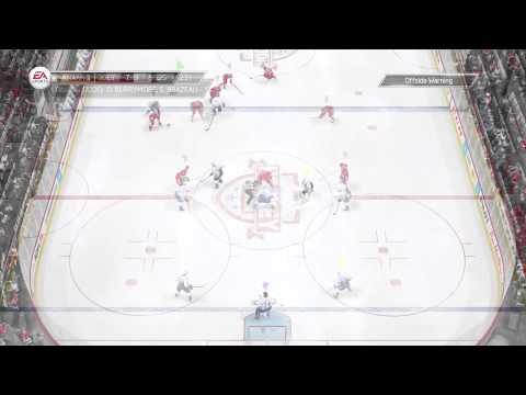 NHL 14 Early Access EASHL – First Goal and Assist