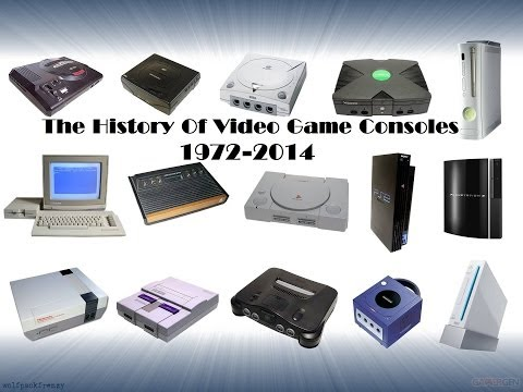 The History Of Video Game Consoles 1972-2014