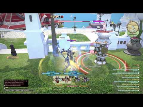FINAL FANTASY XIV refined lvl 60 DRG rotation