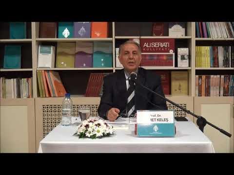 Prof.Dr.Ahmet Keleş - Düşünür; Cabiri (Muhammed Abid el-Cabiri) -