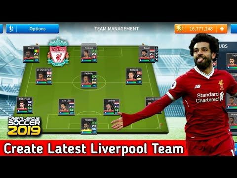 How To Create Liverpool Team In Dream League Soccer 2019 | Android [No Root & No Mod Apk]