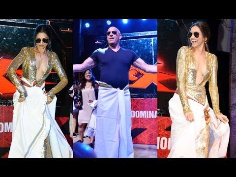 Video Deepika Padukone And Vin Diesel Lungi Dance download in MP3, 3GP, MP4, WEBM, AVI, FLV January 2017