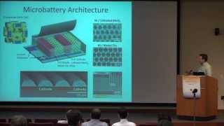 High Power Lithium Ion Microbatteries From Interdigitated Three-Dimensional Nanoporous Electrodes