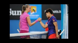 Kumkhum vs Kvitova ● AO 2014 R1 HD 50fps Highlights