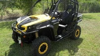 1. 2014 Can-am Commander XT-p 1000 review