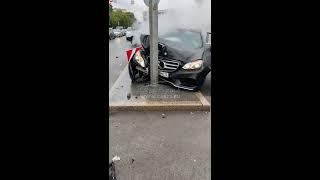 """Ukraińcy """"lecą bokiem"""" – czyli popis idiotów drogowych"""