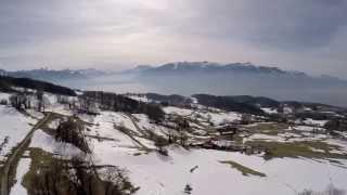 Mont-Pelerin Switzerland  city photo : Le Mont Pèlerin vu d'en haut