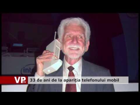 33 de ani de la apariţia telefonului mobil