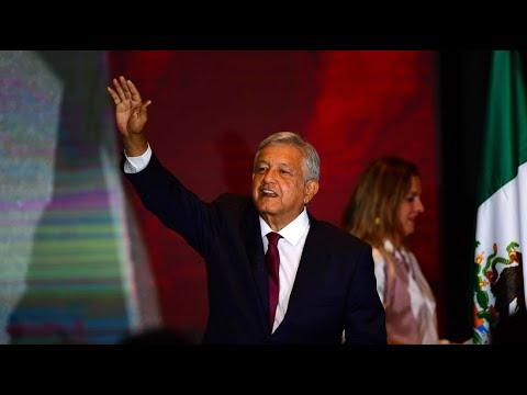 Lopez Obrador (Morena-Partei) ist Mexikos neuer Präside ...
