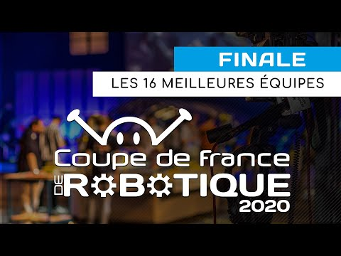 Coupe de France de Robotique 2020 : l'association Evolutek obtient la 5e place !