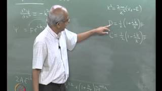 Mod-03 Lec-15 Tunneling -part1