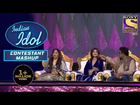 Pawandeep और Arunita ने Nostalgic Feel करा दिया Shilpa Shetty को | Indian Idol | Contestant Mashup
