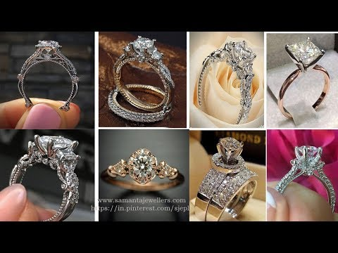 Latest Diamond Rings Designs in Gold with Price 2019 | Samanta Jewellers