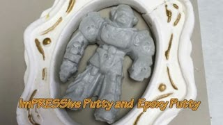 Epoxy putty is an excellent casting material in ImPRESSive Putty. ImPRESSive Putty is a re-usable Mold Making Material that you ...
